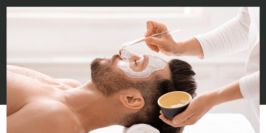 Facial treatment for men